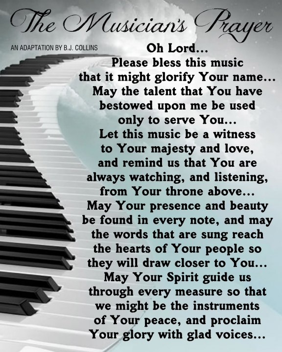 The Musician's Prayer